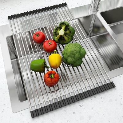 Escurreplatos de cocina Enrollable