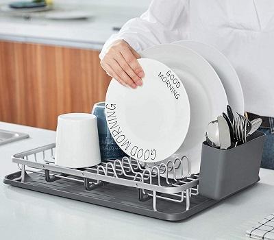 escurridor de platos de aluminio precio