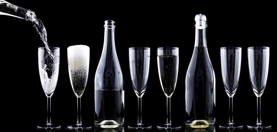 ✅ cristal copas cocina