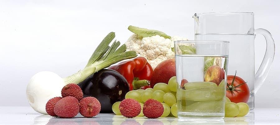 ✨ lavar y cocinar alimentos con agua purificada